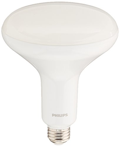 Philips LED Philips 457010 9w BR40 LED Dimmable Flood Soft White Bulb-65w equiv, Pack of 1