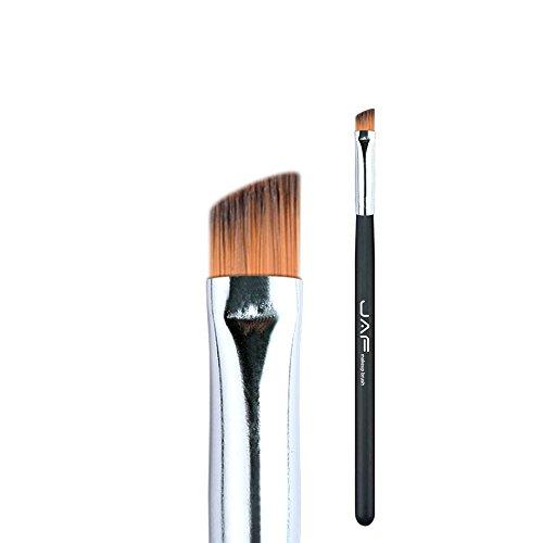 Pinceaux de maquillage JAF Angle Brosse À Sourcils Synthétique Taklon Cheveux Gel Eyeliner Brosse Marque Make Up Eye Liner Brosse Biseau Brosse pour Sourcils Brillant # 04SBYA Brosses et outils de maq
