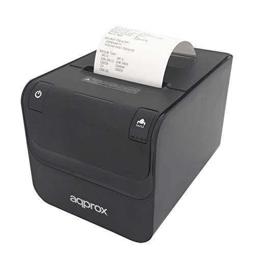 Approx Impresora DE Tickets TÉRMICA APPPOS80AMUSE Negra 250MM/S ...