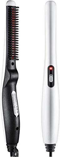 RYLAN Quick Hair Styler for Men Electric Beard Straightener Massage Hair Comb Beard Comb Multifunctional Curly Hair Straightening Comb Curler,...