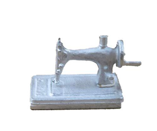 Melody Jane Puppenhaus Hand Nähmaschine 1:24 Maßstab Halb Zoll Metall Zubehör