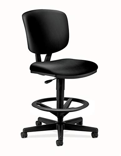 HON Volt Armless Task Chair, Stool, Black