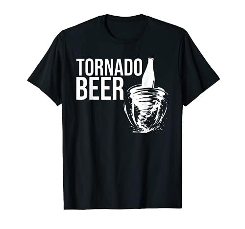 Tornado Cerveza Tormenta Camiseta