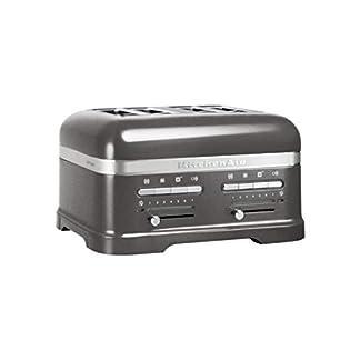 KitchenAid-5KMT4205EMS-5KMT-4205-EMS-Artisan-4-Scheiben-Toaster-Silver-Medallion-Silber