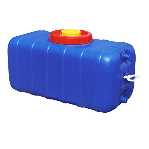 MORN Deposito Agua Grandes, Cubo de Almacenamiento de Agua, Tanque de Almacenamiento de Agua Cuadrado Horizontal Tanque de Agua, Cubo de Grado Alimenticio Resistente y Duradero