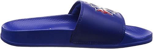 Reebok Unisex-Erwachsene Classic Slide Dusch-& Badeschuhe, Blau (Sc/Collegiate Royal/White/Excellent Red 000) , 44.5 EU