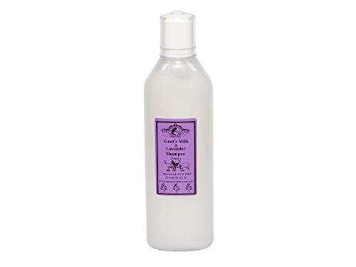 Ziegenmilch & Lavendel Shampoo 250ml für Psoriasis Ekzem Trockene Haut Dermatitis Rosacea empfindliche Haut. Hergestellt in Großbritannien von Elegance Natural Skin Care