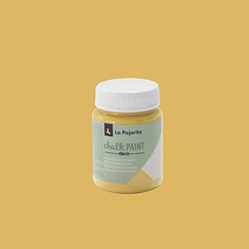 La Pajarita Chalk Paint Pintura Tiza Ocre Sahara , 75 ml