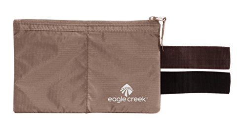 Eagle Creek Undercover Hidden Pocket Cartera para Pasaporte, 17 cm, 2 litros, Khaki