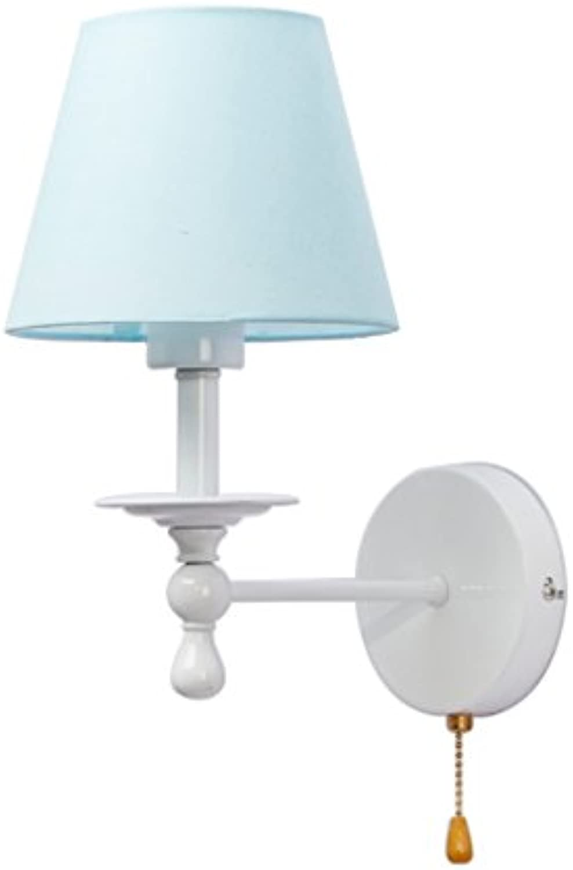 QING MEI-Wandleuchte, Gang, Wandleuchte, Wandleuchte Für Zuhause, Nachttischlampe, Reiverschluss, Kinderwandleuchte (ohne Glühlampe) A++