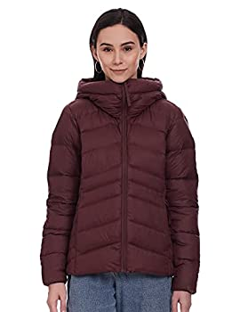 Columbia Women s Autumn Park Down Hooded Jacket Malbec Medium