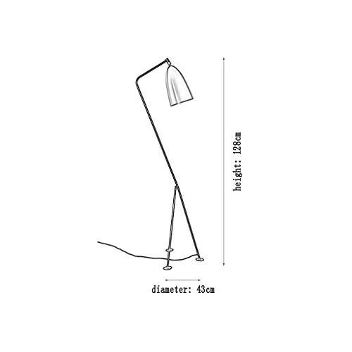 Stativ Stehlampenfuß Cafe Schlafzimmer Sofa Stehlampe Moderne Minimalistische Lampe Hotel Apartment Dekoration Stehlampe Beleuchtung/Weiß