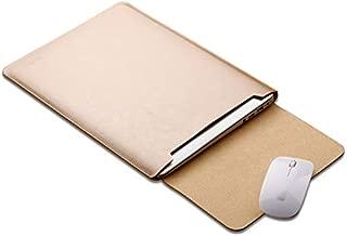 YKDY Laptop Microfiber Leather Inner Bag for MacBook Air 11.6 inch (Black) (Color : Gold)
