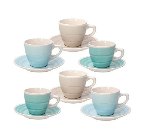 Tognana Confezione 6 tazze caffè