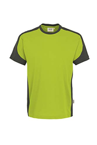 Hakro T Shirt Contrast Performance, kiwi, 3XL