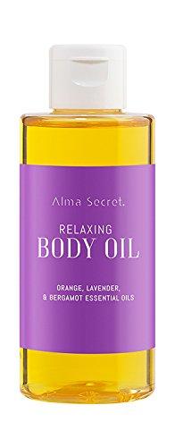Alma Secret Aceite de Masaje Relajante con Naranja, Lavanda & Bergamota - 150 ml