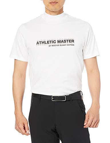 [マスターバニー] [メンズ] [ATHLETIC MASTERシリーズ] 半袖 ハイネックシャツ (吸水速乾・UVカット) / ゴルフ インナー / 758-1167321 030_ホワイト 5 [L]