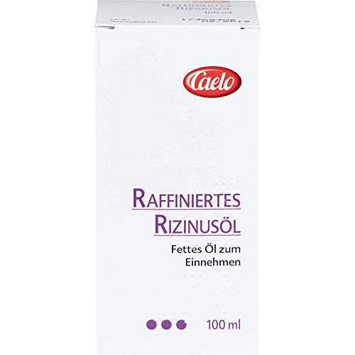 Caelo Raffiniertes Rizinussöl, 100 ml Öl