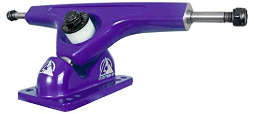 Atlas Truck Co. 180mm 40 Degree 10mm Downhill Reverse Kingpin Longboard Truck (Set of 2) Purple