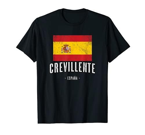Crevillente España | Souvenir Linda Ciudad - Bandera - Camiseta