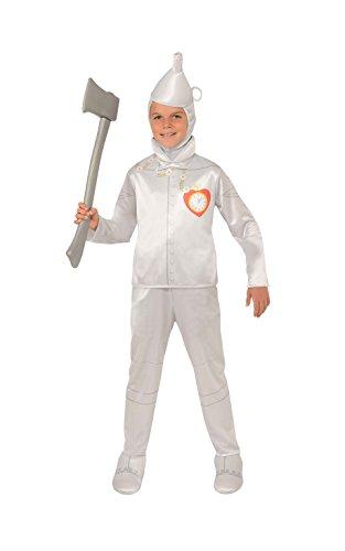 Rubie's 882504S - Disfraz de hombre de hojalata para niño (talla S)