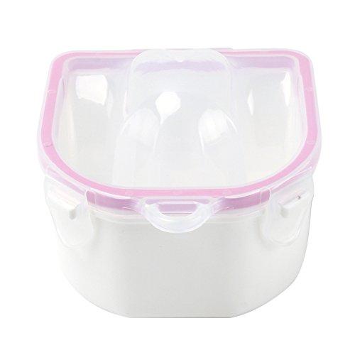 Vaschetta Ciotola Manicure Plastica Vassoio Ricostruzione Unghie Mani a Bagno