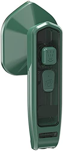Micro plancha de vapor profesional - Mini vaporizador de ropa de mano portátil, máquina para eliminar arrugas de ropa, soporte para planchado en seco y húmedo, adecuado para el hogar y los viajes