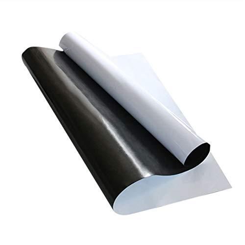 Traje de etiqueta engomada de la pared de la pizarra magnética de 0,63 mm de espesor, material de mascotas, impermeable y resistente al desgaste, fácil de cortar (Size : 100 * 120cm)