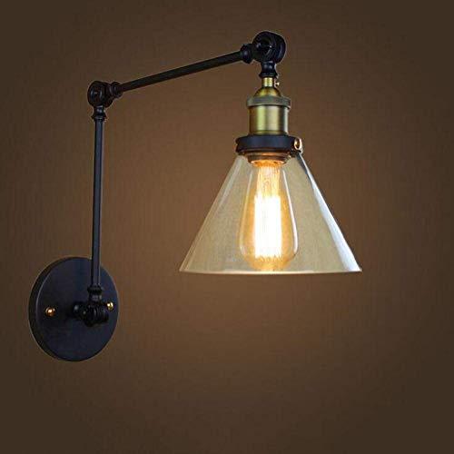 Dmygo Altura lámparas Pared Cristal Moderna Estiramiento