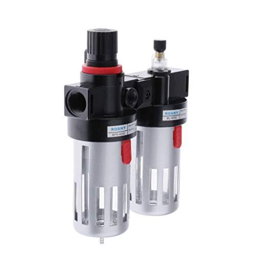 ZYL-YL 1/2 '' Filtro de aire Regulador BFC4000 compresor del aerógrafo componentes neumáticos Regulador de filtro