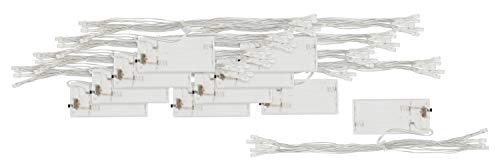10 LED Lichterketten warmweiß 10er batteriebetrieben VBS Großhandelspackung