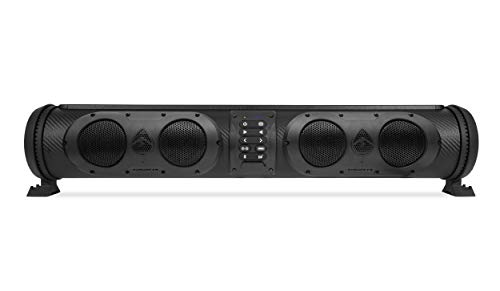 ECOXGEAR SoundExtreme SE26 Amplified Powersports Bluetooth 8 Speaker Soundbar Waterproof Sandproof with LED Lighting 500 Watts of Peak Power