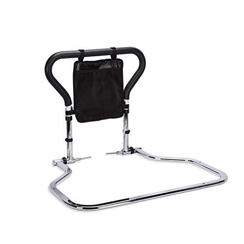 GHHZZQ Riel de Cama de Seguridad Anti-caída Plegable Barandilla de Cama con Bolsa de Almacenamiento para Anciano Mujer Embarazada Minusválido Asistencia Auxiliar, Capacidad de Carga MAX 136kg