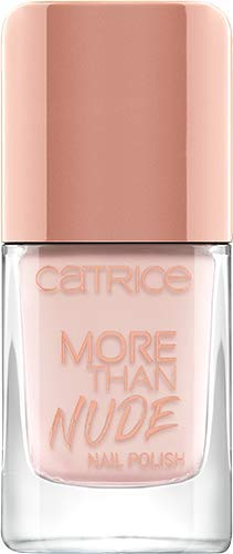 Catrice More Than Nude Nail Polish, Nailpolish, Nagellack, Nr. 06 Roses Are Rosy, nude, langanhaltend, scheinend, ohne Aceton, vegan, Mikroplastik Partikel frei (10,5ml)