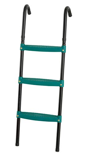 Upper Bounce 3-Step Trampoline Ladder, 40 inch Foldable - Green