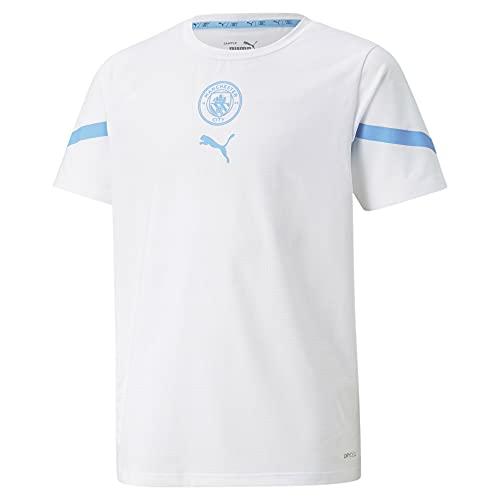 PUMA 2021-2022 - Maglia da uomo City Pre Match (bianco) - bambini
