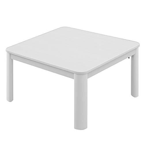 モダンデコ こたつ テーブル ふとん セット 正方形 70cm おしゃれ 省スペース (ホワイト 本体のみ) B07J4B7T5J 1枚目