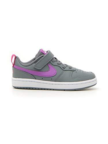 Nike Court Borough Low 2 (PSV) Zapatillas para niña Gris Sintético/Cuero Gris Size: 35 EU