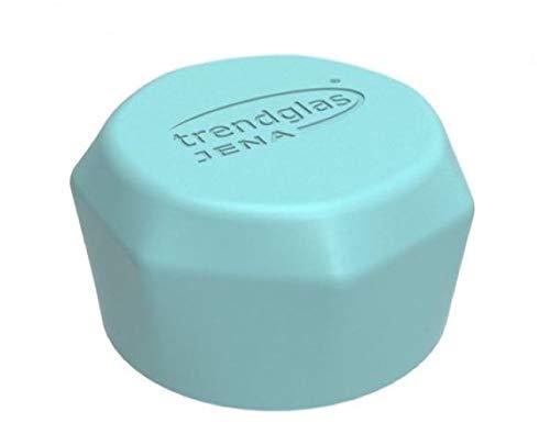 """Trendglas Jena PP-Schraubkappe für Trinkflasche """"Blue Ocean"""", Blau"""