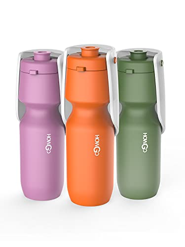 HOWGO Large Dog Water Bottle,Super Light-Weight, Portable,...