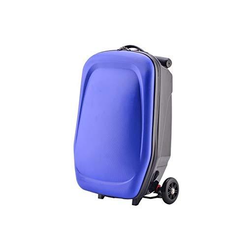 Youpin Maleta para patinete para hombre con ruedas, maletín de viaje para negocios, mochila para estudiantes, scooter (color G)