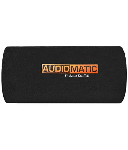 AudioMatic AMBT-8R AudioMatic Round Active Car Bass Tube Subwoofer (Powered, RMS Power: 380 W)