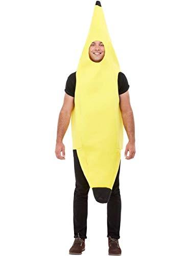 Funidelia   Costume da Banana per Donna e Uomo Taglia Standard ▶ Frutta, Cibo - Giallo