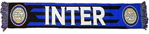 F.C.Internazionale Sciarpa Inter Ufficiale JACKARD INT02
