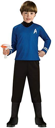 Rubies - Disfraz oficial de Star Trek Deluxe Spock para nios, talla grande