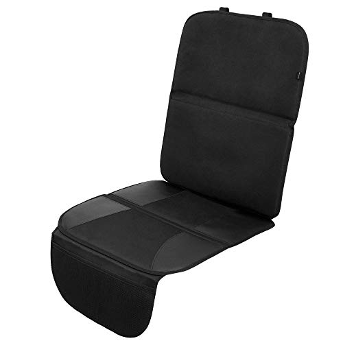 Systemoto Hochwertiger Autositzschoner für Kindersitz - Auto Kindersitzunterlage - Sitzschoner Kinder Autositz Isofix Geeignet - Extra Rutschfeste Autositzauflage zum Schutz der Sitze