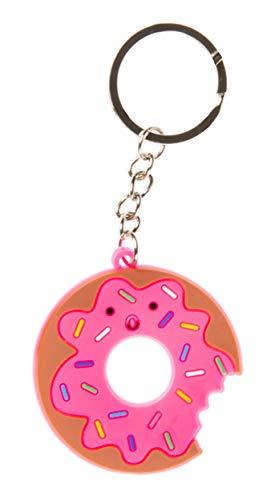 LG-Imports Llavero, diseño de donut, 4,5 cm, color rosa