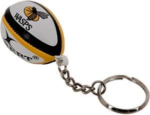 GILBERT Wasps rugby ball schlüsselring