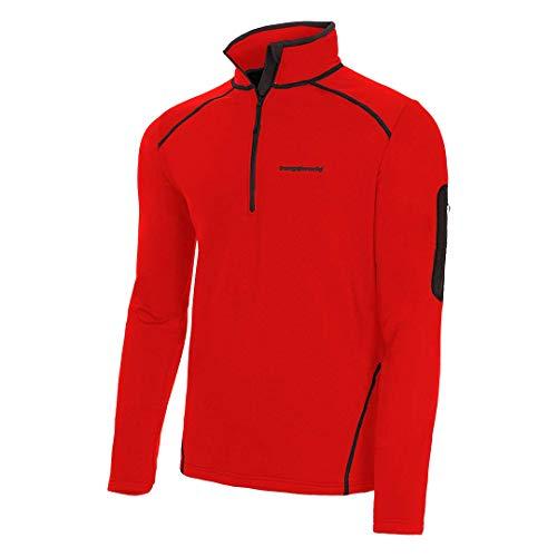 Trangoworld Mogao Pullover, Hombre, Rojo, L