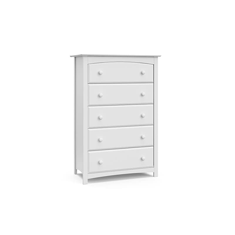 crib bedding and baby bedding storkcraft kenton 5 drawer universal dresser, white, kids bedroom dresser with 5 drawers, wood and composite construction, ideal for nursery toddlers room kids room